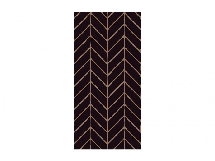 Papel de pared Big Harmony of Patterns (Black) 122636 additionalImage 1