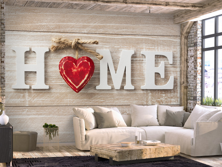 Home Heart (Red)