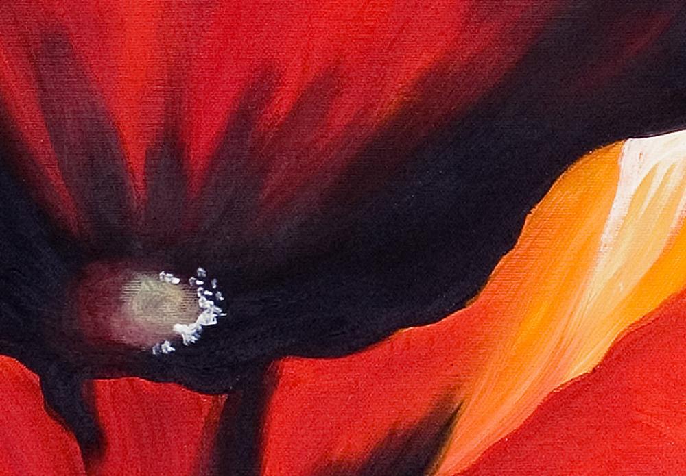 tableau coquelicots rouges coquelicots fleurs tableaux. Black Bedroom Furniture Sets. Home Design Ideas