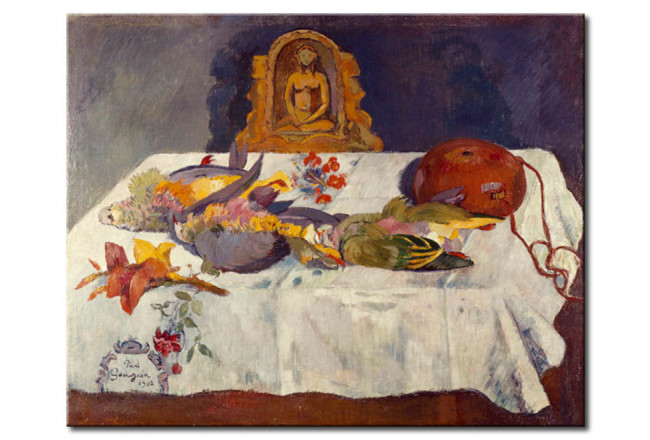 Art Reproduction Still life with Parrots 51466