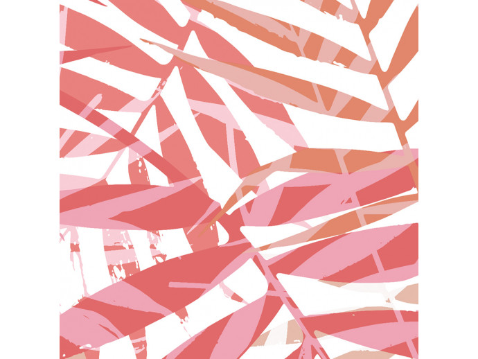 Papel decorado Palm Red 118586 additionalImage 2