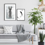 Wall art collection A wonderful deer 129686