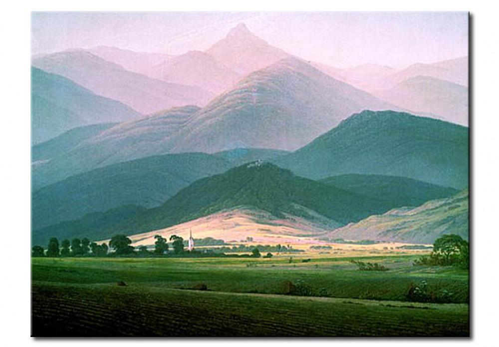 Reproduction Painting Landscape In The Riesengebirge Caspar David Friedrich Reproductions