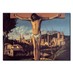 Reproduction Painting Christon the Cross in a Jewish cemetery 111796