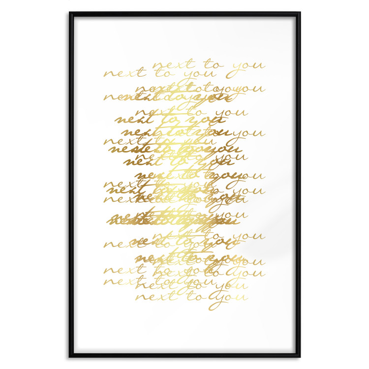 Next to You [Deco Poster - Gold]