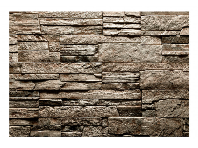 Wall Mural Beautiful Brown Stone 98096 additionalImage 1