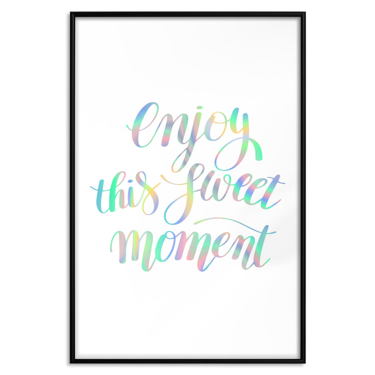 Enjoy This Sweet Moment [Deco Poster - Holographic]