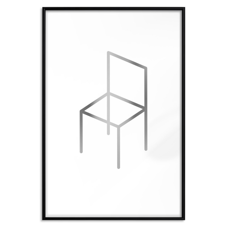 Chair [Deco Poster - Silver]