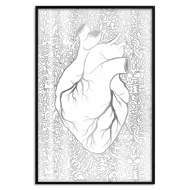 Clean Heart [Deco Poster - Silver]