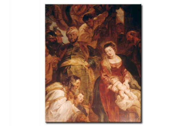 Art Reproduction Adoration of the Kings 50727