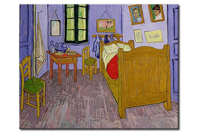 Quadro famoso Camera da letto di Van Gogh ad Arles