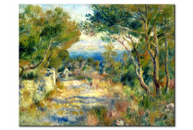 Tableau Deco L Estaque Auguste Renoir Reproductions