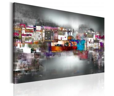 Peinture sur toile multicolores collection de - Bimago cuadros modernos ...
