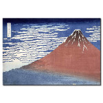 Cuadro famoso Fine weather with South wind, from 'Fugaku sanjurokkei' (Thirty-Six Views of Mount Fuji) 107747