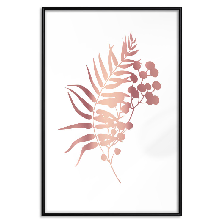 Form of Nature [Deco Poster - Rose Gold]