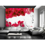 Wall Mural Colors of spring: red 60747