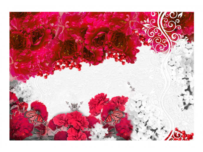 Wall Mural Colors of spring: red 60747 additionalImage 1