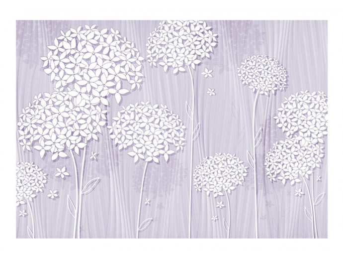 Papier peint moderne  Purple Nostalgia 64247 additionalImage 1
