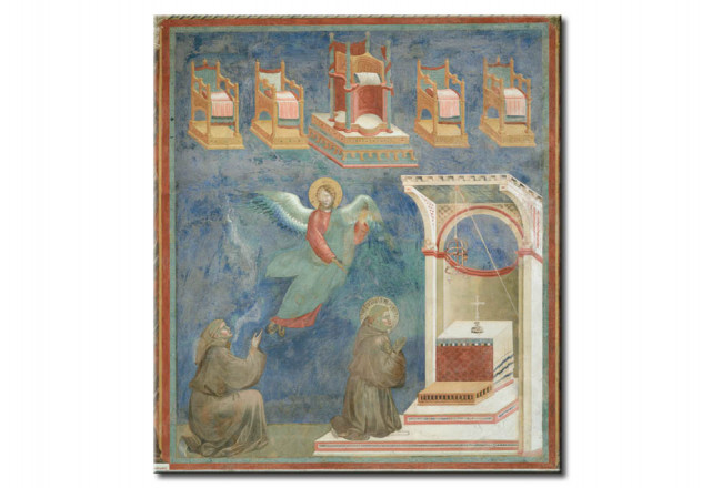 Quadro famoso The Vision of the Throne 113157