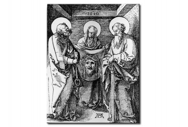 Riproduzione St. Veronica inbetween St. Peter and St. Paul 111267