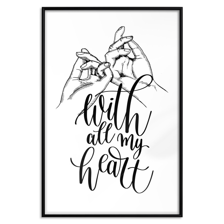 With All My Heart [Poster]