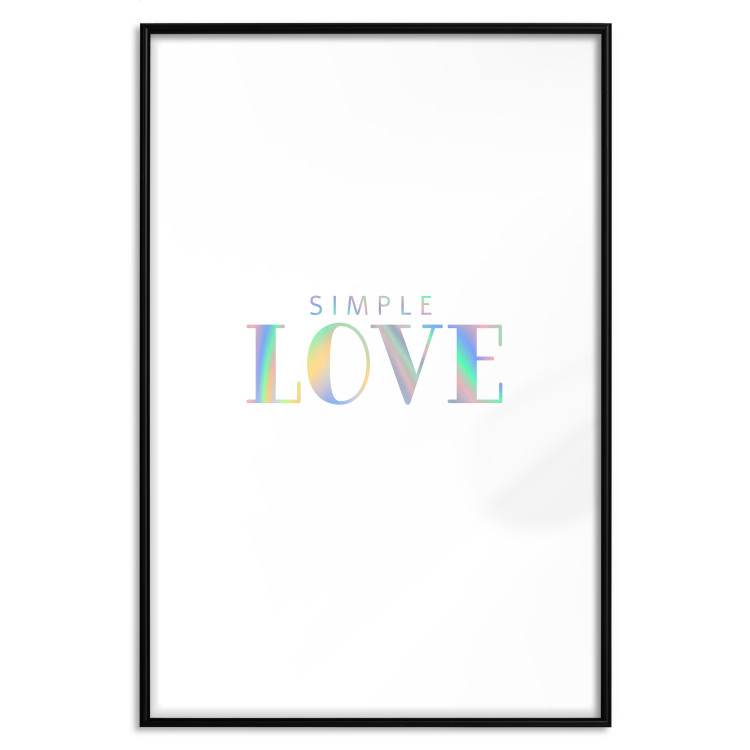 Simple Love [Deco Poster - Holographic]