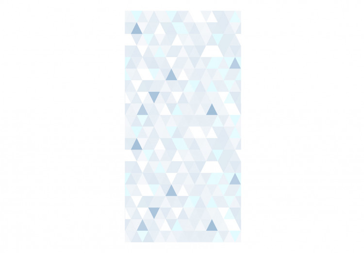 Shimmering Triangles (Blue)
