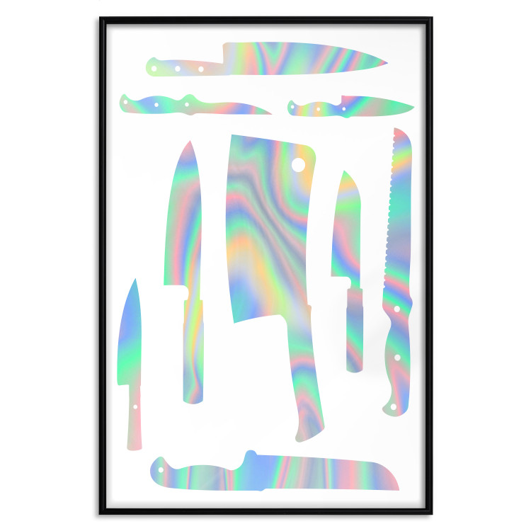 Cleaver and Knives [Deco Poster - Holographic]