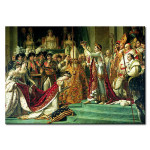 Riproduzione quadro The Consecration of the Emperor Napoleon 112487