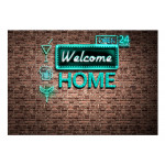 Papier peint moderne Welcome home - inscription 60887 additionalThumb 1
