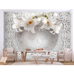 Fotomural decorativo Lilies and Ornaments 108097
