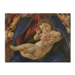 Reprodukcja Madonna and Child with six angels 51897