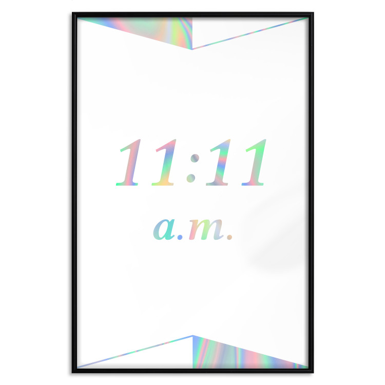 Unusual Time [Deco Poster - Holographic]