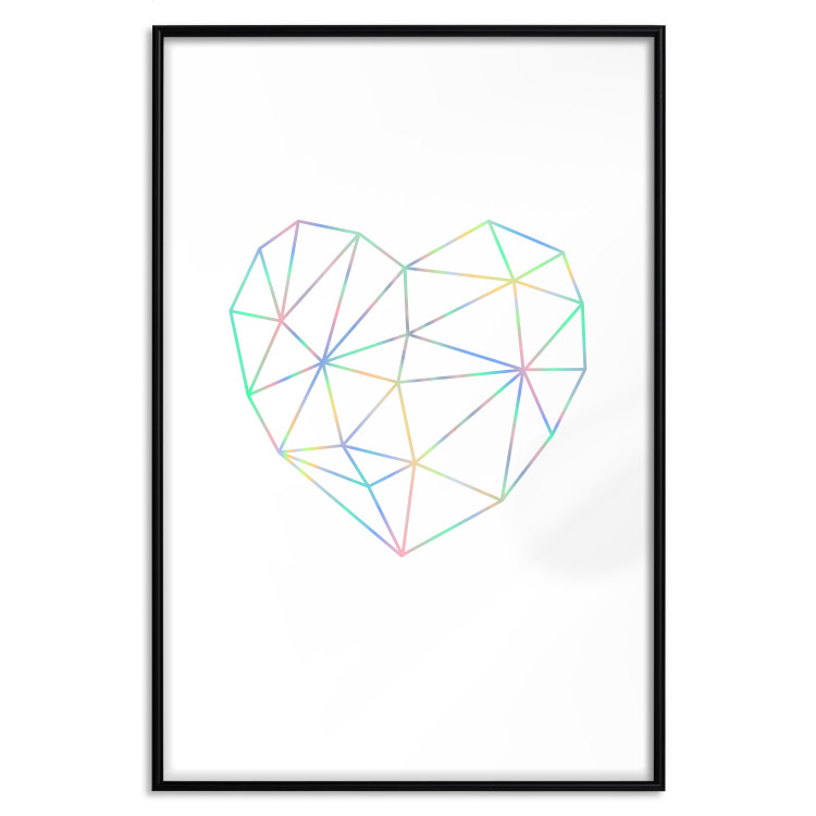 Love Mosaic [Deco Poster - Holographic]