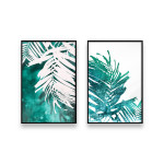 Posters set Emerald palm tree 130318 additionalThumb 1