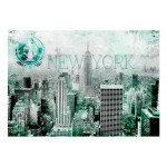 Wall Mural Emerald New York 61528 additionalThumb 1