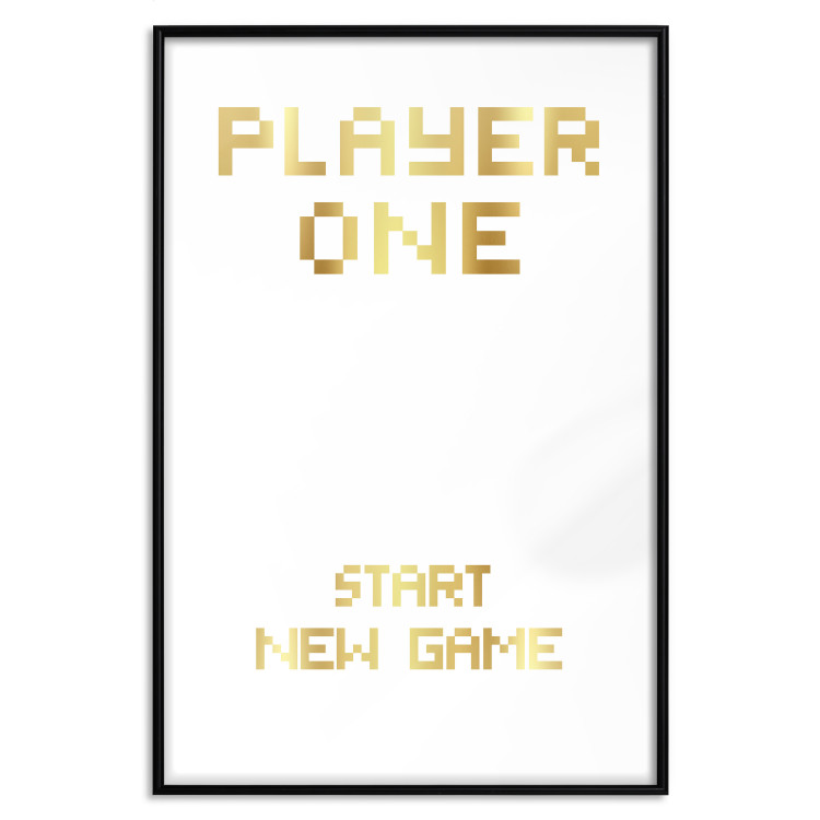 Start new game [Deco Poster - Gold]
