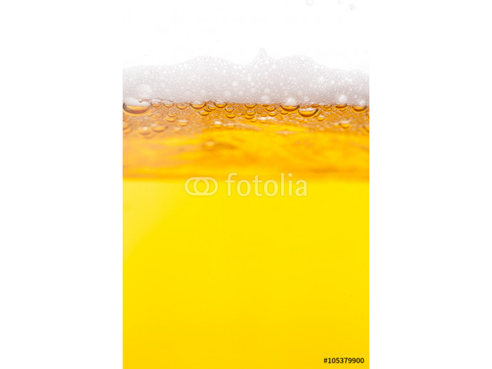 Beer bubbles in a mug 64238