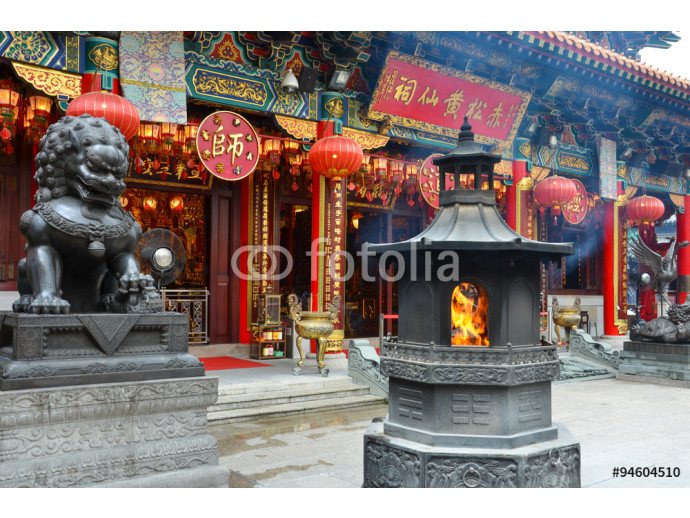Chinese Lion statue 64238