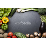 Composition of various vegetables and copyspace. 64238