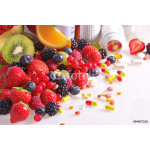 Berries, fruits, vitamins and nutritional supplements 64238