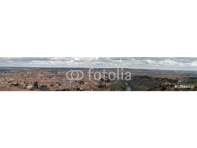 Panorama of the old Toledo city 64238