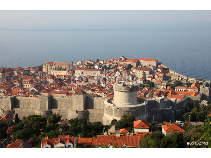 View of the medieval town Dubrovnik in Croatia 64238