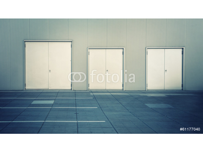 Stainless doors 64238