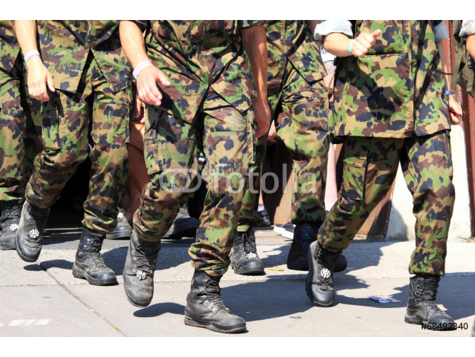 Army running with walking event 64238