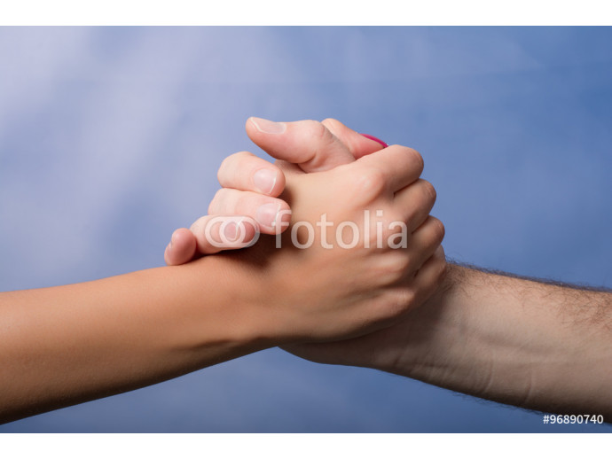male and female hands 64238
