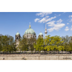 view to Berlin Dome with river spree 64238