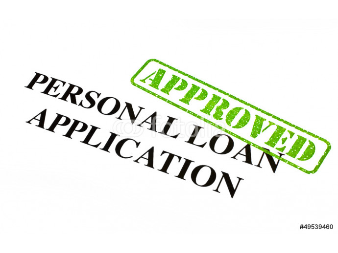 Personal Loan Application APPROVED 64238