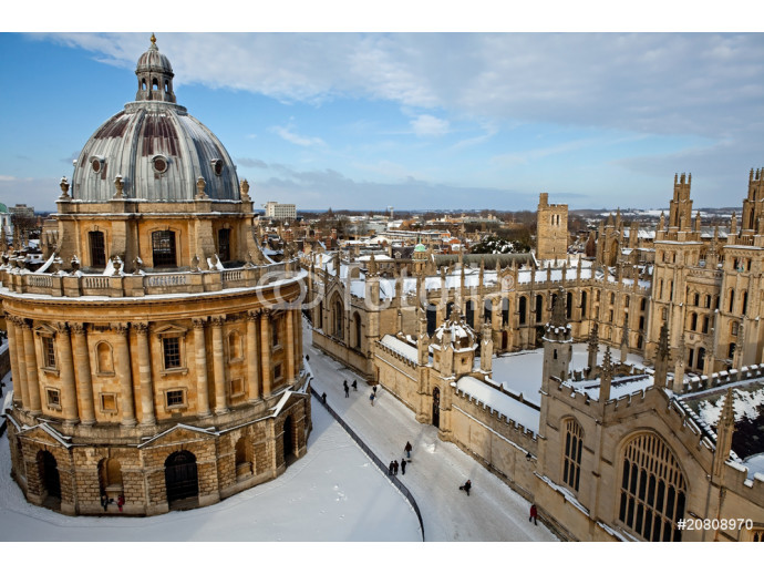 The Radcliffe Camera and All Souls College 1438, Oxford 64238