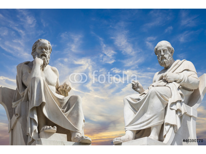 Plato and Socrates,the greatest ancient greek philosophers 64238